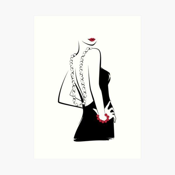 Sexy lady Art Print