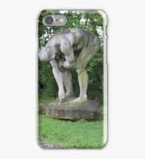 Giant Sculpture Amongst Trees iPhone Case/Skin