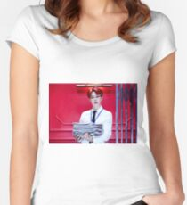 BTS DOPE JIMIN Women's Fitted Scoop T-Shirt