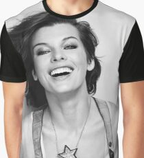 Milla jovovich Graphic T-Shirt
