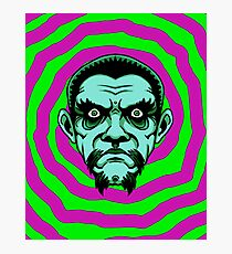 OBEY THE ZOMBIE BELA Photographic Print