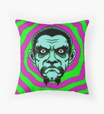 OBEY THE ZOMBIE BELA Throw Pillow