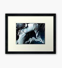 faded comfort Framed Print