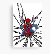 The Amazing Spider-Stitch Canvas Print