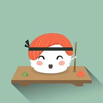 Mr Sushi  by meowsic