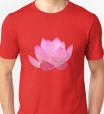 polygonal lotos flower T-Shirt