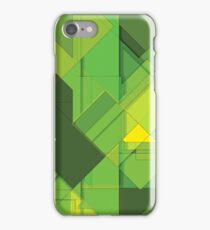 So Abstract, So Green iPhone Case/Skin