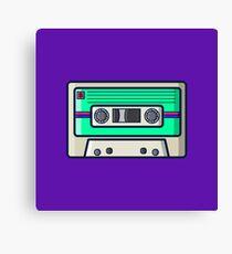 Retro - Cassette Canvas Print