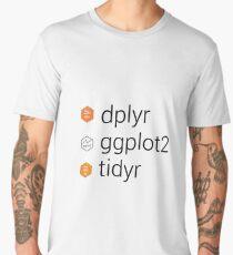 Tidyverse libraries: dplyr, ggplot2, tidyr Men's Premium T-Shirt