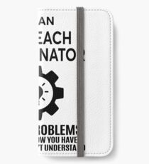OUTREACH COORDINATOR - NICE DESIGN 2017 iPhone Wallet/Case/Skin