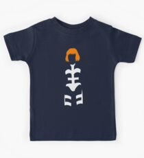 The Fifth Element - Leeloo silhouette Kids Tee