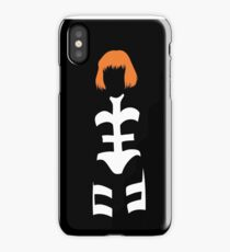 The Fifth Element - Leeloo silhouette iPhone Case/Skin