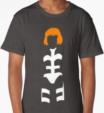 The Fifth Element - Leeloo silhouette Long T-Shirt