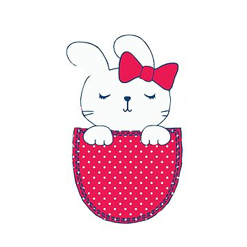 Hello kitty pocket by elizmoonz
