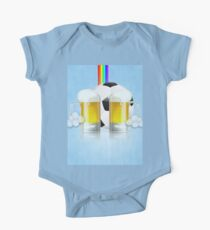 Beer Glass and Soccer Ball 3 Kids Clothes