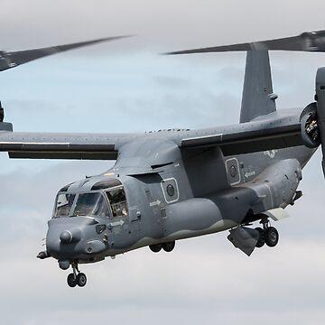 CV-22 Osprey by aviationart