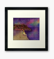 Night sky Framed Print