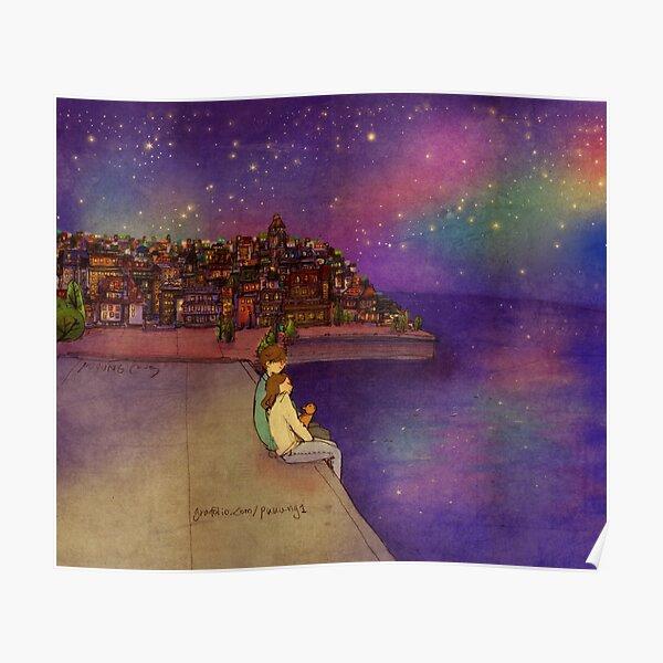 Night sky Poster
