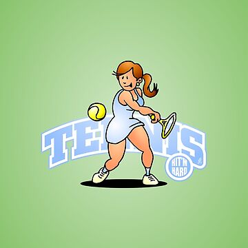 Tennis, Hit'm hard by cardvibes