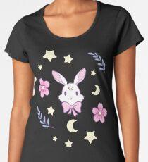 Sakura Bunny Women's Premium T-Shirt