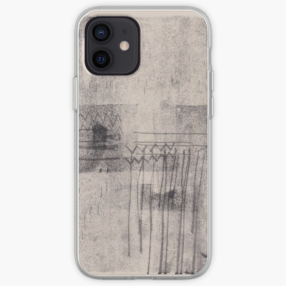 Heartbeat - Abstract Monoprint Artwork iPhone Case & Cover