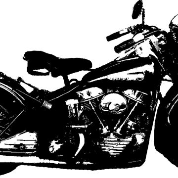 1948 Motorcycle by btphoto
