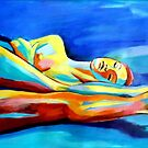 """Womanly reclining figure"" by Helenka"