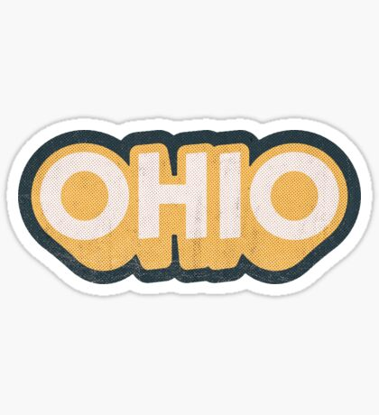Ohio State Sticker | Retro Pop Sticker