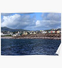 Irish Seaside Village Co Kerry Poster