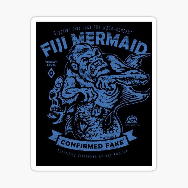 Fiji Mermaid - Cryptids Club Case File #204 Sticker