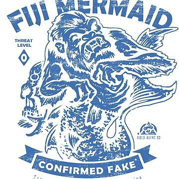 Fiji Mermaid - Cryptids Club Case File #204 by HeartattackJack