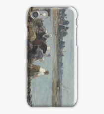 Laundresses on the Banks of the Touques 1888 - 1895 Eugène Boudin iPhone Case/Skin