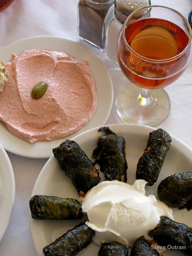 Alfresco dining, Greek Style by Steve Outram