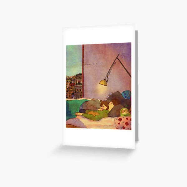 Nap together Greeting Card