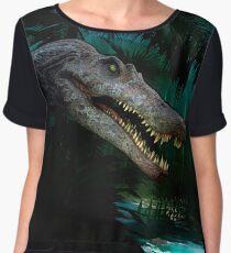 Spinosaurus Aaegyptiacus Jungle Women's Chiffon Top