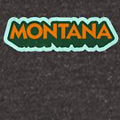 Montana State Sticker | Retro Pop by retroready