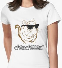 Chinchillin Women's Fitted T-Shirt