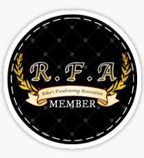 RFA Member Sticker