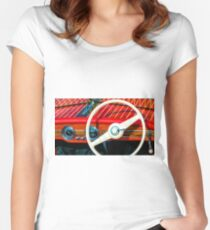 Antique Boat Show 7 Women's Fitted Scoop T-Shirt