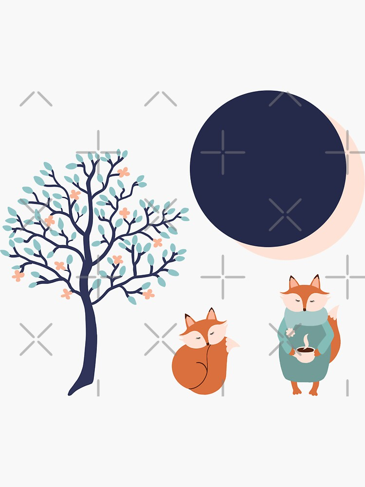 Woodland eclipse by Elenanaylor