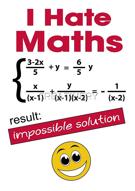 math haters Hate math then here are the best degrees for math haters - bangalore: does the very idea of math make you fret does numbers make you feel like being on.