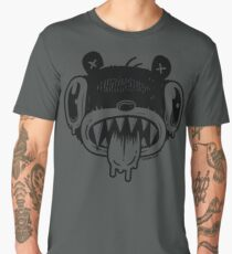 Noodle Bear Face Men's Premium T-Shirt