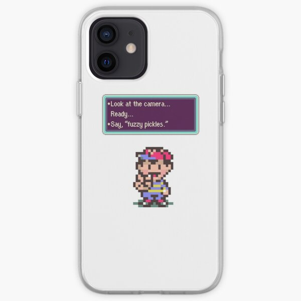 Earthbound Fuzzy Pickles iPhone Soft Case