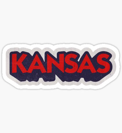 Kansas State Sticker | Retro Pop Sticker