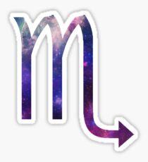 Scorpio Galaxy Sign Sticker