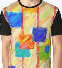 Modern Abstract Color Combination No 7 Graphic T-Shirt
