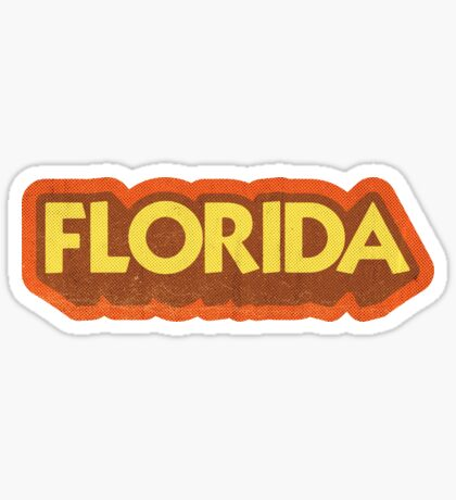 Florida State Sticker | Retro Pop Sticker