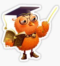 Master owl Sticker