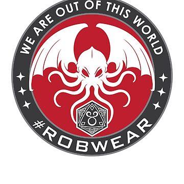 #RobWear Brand Logo by RobertVaughan