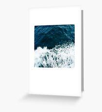 Ocean Polaroid Greeting Card